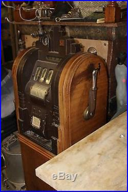 Antique mills extraordinary slot machine 5 cent