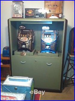 Antique slot machine Safe Mills Jennings Watling Pace