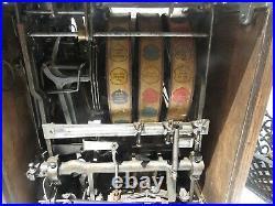 Antique slot machine quality Mint 1930's era 5 cent