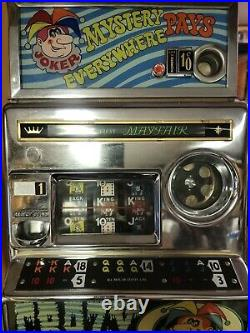 Aristocrat Mayfair Mystery Joker Pays Everywhere Australian 10p Slot Machine