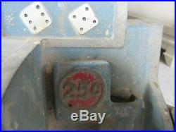 BALLY RELIANCE DICE MACHINE 25 cent Incomplete
