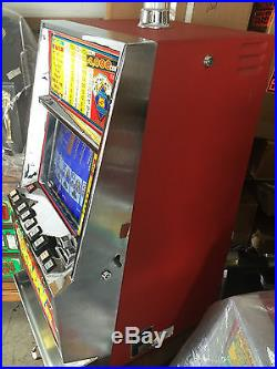 Bally Video Poker V5500 Jacks Or Better Coins Only Play To 1 To 5 Coins