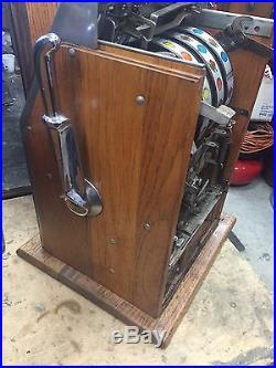 Buckley / Mills Black Cherry 5 Cent Slot Machine
