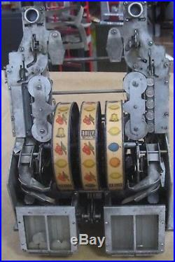 Bally 5 Cent / 25 Cent Double Bell Slot Machine