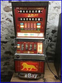 Bally 988 Deluxe Progressive EM Slot Machine