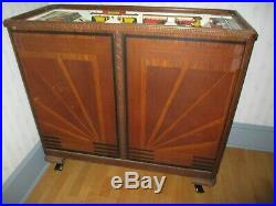 Bally Rays Track Horse Racing Slot Machine For Parts Or Repair