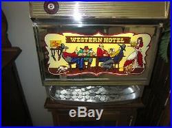 Bally Slot Machine Money Honey One Coin Model 742 1963
