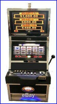 Bally Slot Machine Winning Times