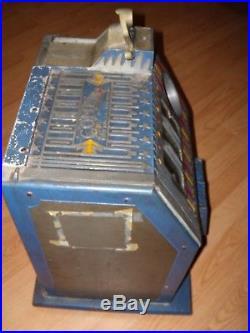 Beautiful Original Antique Pace 5 cent Slot Machine