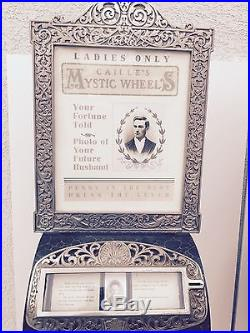 CAILLE MYSTIC WHEELS-a great pair- one for men and one for women