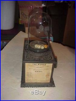Cast Iron Caille Dice Popper Turn Of The Century Trade Stimulator Slot Machine