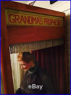 Circa 1954 Mike Munves Grandma Floor Model Fortune Teller