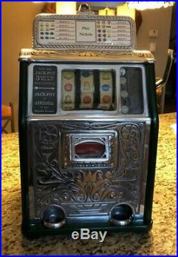 Caille 5 Cent Superior Jackpot Bell Slot Machine