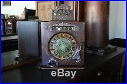 Caille Ben Hur 25 cent antique slot machine