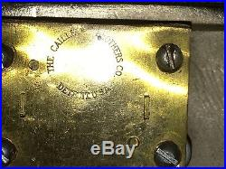 Caille Bros. C1910 Rare Elk Cast Iron withSwivel Base 5 Cent Trade Stimulator