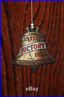 Caille Victory Antique Cast Iron Center Pull Gum Vendor 5c Slot Machine Video