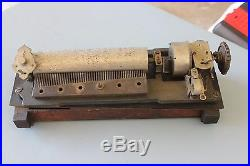 Caille or Mills Dewey Upright Slot Machine Music Box