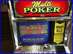 Cheap Working Igt Multi-poker Video Poker Machine! Look! Nice