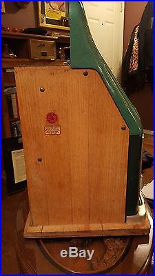 Circa 1947 Mills Novelty 5-cent High Top Slot Machine -Special Award 777 Model