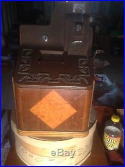 Collectors Antique Genuine Mills (Smoker) Slot Machine (no restrictions)