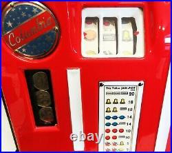 Columbia 25c Slot Machine Fully Restored, circa 1940's