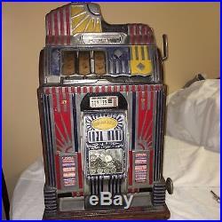 Dime Jennings Century with mint vendor Slot Machine