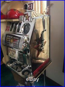 Dollar Cocktail Waitress Slot Machine