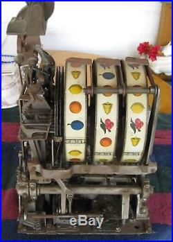 Early 25 Cent Mills Slot Machine With All The Goodies