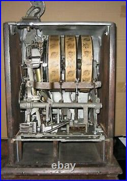 Early Mills Slot Machine With Roberts Conversion