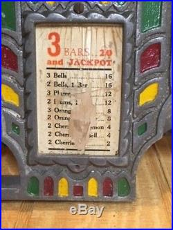 FEY Front Casting with Jackpot for Pace Fancy Front Slot Machine