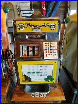 Fitzgerald 50 Cent Slot Machine Adjustments Needed Will Separate From Stand