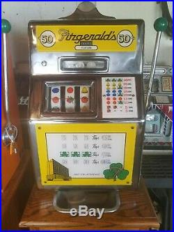 Fitzgerald Slot Machine 50 Cent with Stand