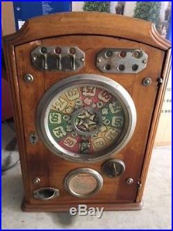 French penny machine