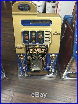 Golden Nugget 5 Cent (original) Restored