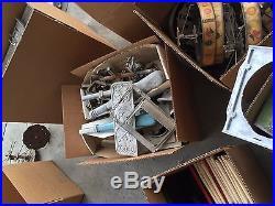 Giant hoard of Callie original parts Superior, Cadet Doughboy etc