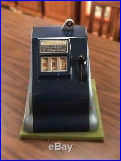 Groetchen Mercury Penny Trade Stimulator / Antique Slot Machine