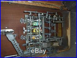 Gunter Wulff 1956 Exacta English Lager Penny Play Slot Machine Made in Germany