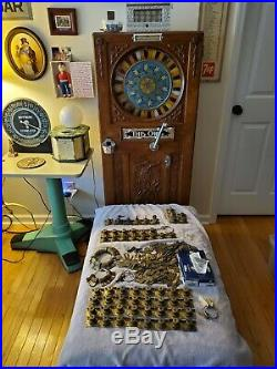 HUGE LOT Mills Novelty Co Antique Slot Machine Locks and Keys Bell Lock