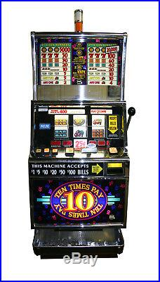 IGT Ten Times Pay Vegas style slot machine with hopper