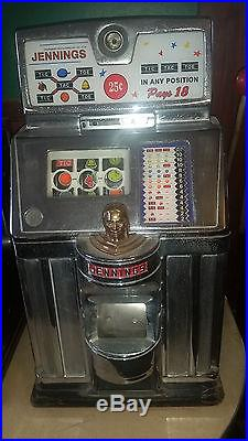 Indian Head Jennings Slot Machines. 01.05.10.2 Set of 4