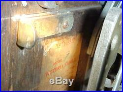 JENNINGS 1932 5 CENT SLOT MACHINE With VENDOR #'S MATCHING CASE ART DECO