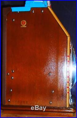 JENNINGS 25-cent VICTORY CHIEF antique slot machine, 1942, SUPER RARE
