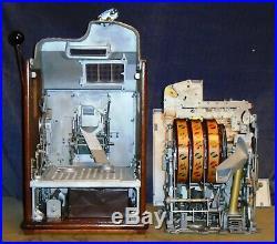 JENNINGS 5c CENTURY antique slot machine, ca 1931