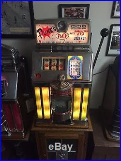 Jennings Governor 50 Cent Slot Machine Dunes Las Vegas
