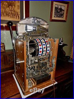 Jennings Nevada Club Chief Light Up 25 Cent Slot Machine! No Reserve