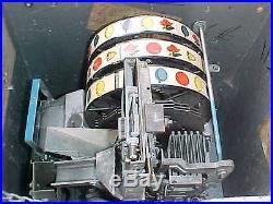 Jennings Silver Moon Console Slot Machine, Good Working $795.00