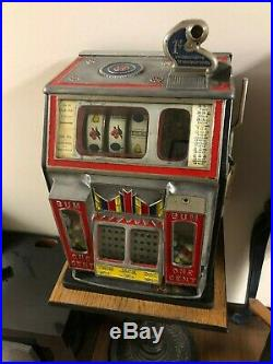 Jennings 1 Cent Little Duke Restored