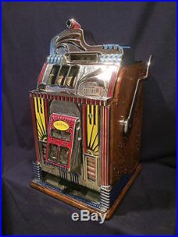 Jennings 10-cent CENTURY antique slot machine, 1930s