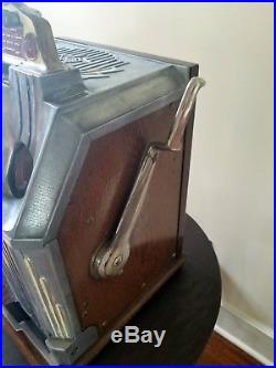 Jennings 5 Cent Duchess Slot Machine