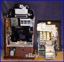Jennings 5-cent BLACK HAWK antique slot machine, 1946